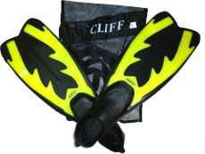 Ласты Cliff DRF-F367 L Yellow